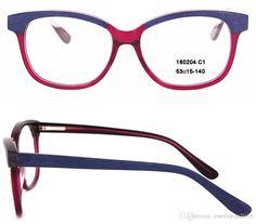 fdcfe3912e22 New Arrival 2017 Fashion Women Eyeglasses Frames Designer Eyeglass Frame  Full Rim Acetate Optical Frame With