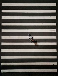 skateboarding in lines