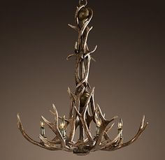 Antler Chandelier this would be perfect in my dream log cabin home!this would be perfect in my dream log cabin home! Antler Chandelier, Rustic Chandelier, Eclectic Chandeliers, Entry Chandelier, Chandelier Ideas, Chandelier Bedroom, Chandelier Lighting, Cabin Lighting, Rustic Lighting
