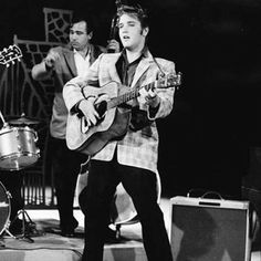 September 9, 1956: Elvis Presley makes his first appearance on The Ed Sullivan Show.