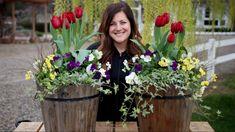 Spring Arrangement with Tulips // Garden Answer