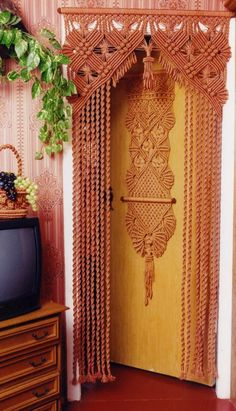 Макраме Шторы - patterns for door hangings, to buy