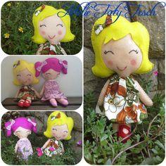 Bonecas de feltro com 34 cm de altura, disponíveis em www.atelietatytesch.com