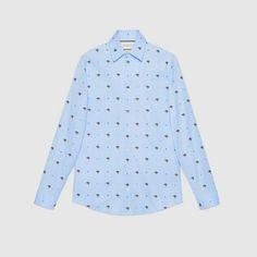 69d1c11d6a9 Gucci UFO and symbols fil coupé shirt