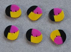 mix colored buttons, nr 120