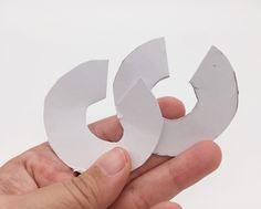 Bommel basteln einfache DIY Anleitung ohne Pompom Maker