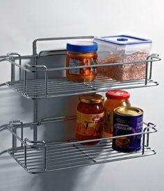Home Care Stainless Steel Wall Shelf Wall Shelves, Shelf, Steel Wall, Kitchen Organization, Home Kitchens, Stainless Steel, Modern, Organize, Shopping