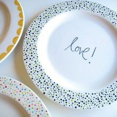 love is on the plate