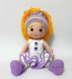 PATTERN  Eva Doll crochet amigurumi by HavvaDesigns on Etsy, $8.99