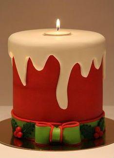 Creative & Inspiring Modern Christmas Candles Decoration Idea