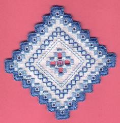 Hardanger embroidery H147 | Flickr: Intercambio de fotos