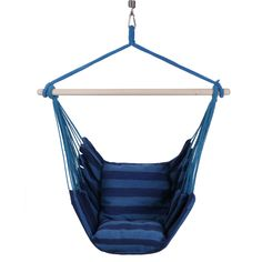 KLM Hanging Rope Hammock Chair Swing with Pillows and Hanging Kit Rope Hammock, Indoor Hammock, Hanging Hammock Chair, Hanging Rope, Swinging Chair, Indoor Outdoor, Swing Seat, Porch Swing, Chair Swing