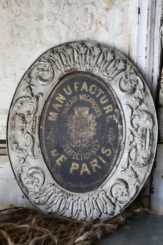 decor, garden signs, pari, french beauty, antique signs