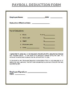 Payroll Change Form  Payslips    Change