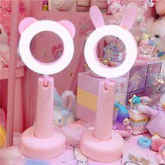 Kawaii Bedroom, Otaku Room, Pink Animals, Fill Light, Cute Room Decor, Gamer Room, Led Night Light, Light Led, Cute Night Lights