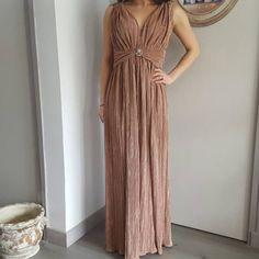 robe du soir drapée chic