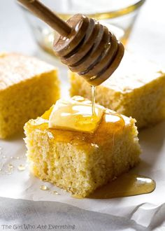 Share Tweet Pin Mail The Best Sweet Cornbread – soft, tender moist cornbread recipe that's sweet just like I like it. Reminds me of Marie ...