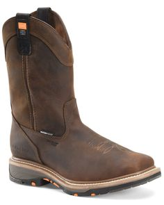 Ariat Men's Catalyst VX Waterproof Composite Toe Work Boots   Boot Barn Wardrobe Images, Durango Boots, Composite Toe Work Boots, Steel Toe Work Boots, Comfortable Boots, Justin Boots, Get Directions, Brown Boots, Riding Boots