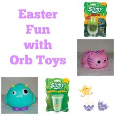 Fun treats from ORB toys that are perfect for Easter. Give the gift of fun without the sugar! Orb offers hours of entertainment.