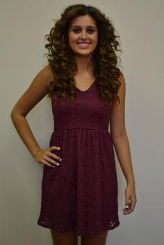 Chantilly Lace Dress, www.piaceboutique.com