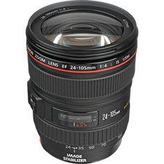 $1100. Canon EF 24-105mm f/4L IS USM Lens 0344B002 B&H Photo Video   B&H Photo Video
