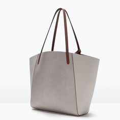 Image 2 of COMBINED SHOPPER BAG from Zara