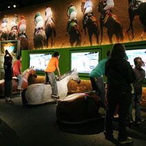Kentucky Derby Museum...all you want to know about the history of horse racing and more.
