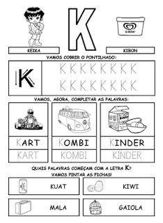 Alfabeto Pontilhado | Baú de Atividades