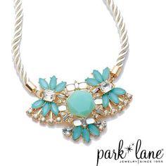 Aqua Fleur Necklace