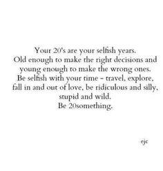 Proud to be a Twenty something #yolo