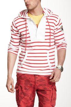 Cotton Stripe Hoodie on HauteLook Michael Bastian 0f625b2f5