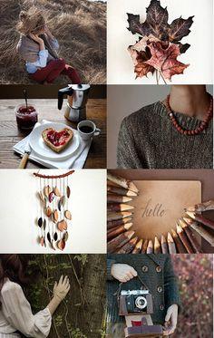 #Brown Moodboard                                                       …
