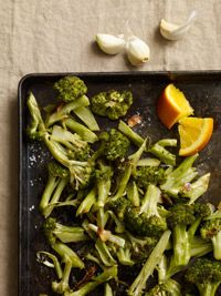 Roasted Broccoli with Orange - Healthy Recipe Finder   Prevention