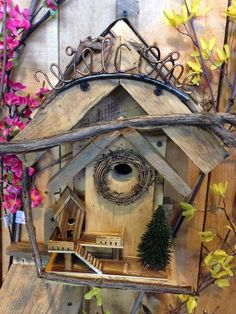 Beautiful bird house