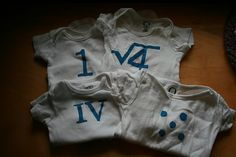 monthly onesies 1 by knitnlit, via Flickr