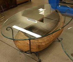 canoe coffee table | anne's attic | pinterest | canoeing