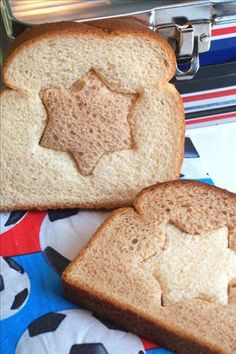 """Two-Toned Sandwiches: """"Kids get tired of the same old sandwich, so I came up with this as a new and fun way to make sure he doesn't skip his sandwich!"""" -NcMysteryShopper"""