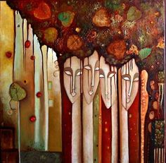 Painter Ingrid Tusell Domingo Mixed Media Figurative Art, Artist Study for Art… Medical Illustration, Illustration Art, Face Art, Art Faces, Figure Painting, Painting People, Art Portfolio, Figurative Art, Pop Art