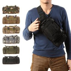 Tactical Bag Pouch Military Camping Hiking Bag- OPC Exclusive