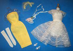 Vintage 1963 Barbie Orange Blossom Outfit #987