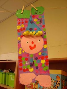 Maro's kindergarten: Clown crafts!