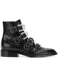 bottines clout es amy dupe bottines en cuir clous elegant givenchy boots pinterest. Black Bedroom Furniture Sets. Home Design Ideas