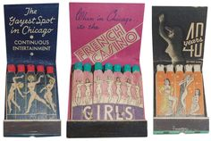 These matches, of course, were intended to appeal to men