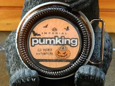 Beer Belt Buckle Southern Tier Brewing Pumking by BrewPaw on Etsy, $28.99