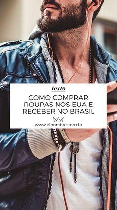 05544c6a5a5 Como comprar roupas nos EUA e receber no Brasil. Loja MasculinaModa ...
