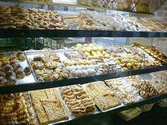 Facturas!!  Its amazing I didn't gain 10 lbs living in Argentina... walking into a bakery pretty much looks like this.