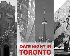 Our recommendations for where to take a date in Toronto; when you want to seduce that special someone - Casa Loma, CN Tower, Ripley's Aquarium, AGO & ROM.
