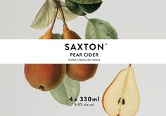 Packaging of the World: Creative Package Design Archive and Gallery: Saxton Cider