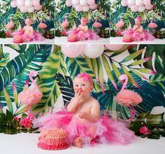 Cora's Flamingo Cake Smash Session Carrollton cake smash photographer, girl with pink cake for Flamingo Cake, Flamingo Birthday, Luau Birthday, Birthday Cake Smash, Flamingo Party, Boy First Birthday, Birthday Ideas, Flamingo Decor, Birthday Photos