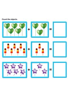 math worksheet : picture addition 5  pre k  kids learning games and worksheets  : Math Worksheets Pre K